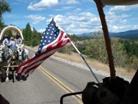 10th annual Historic Sonora Pass Wagon Train 2007