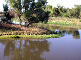 Where the Merced and San Joaquin Rivers merge into one.