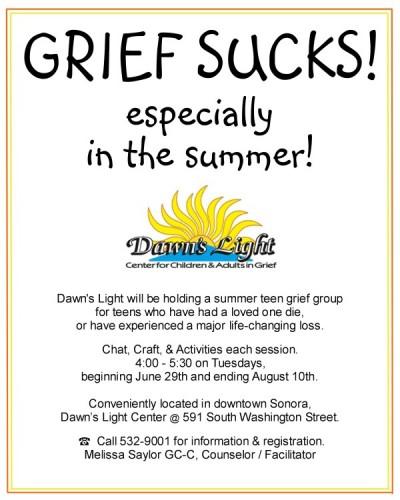 support teen grief